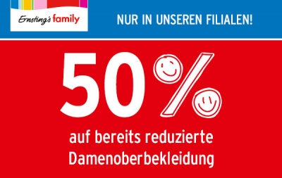 Sale bei Ernsting's Family