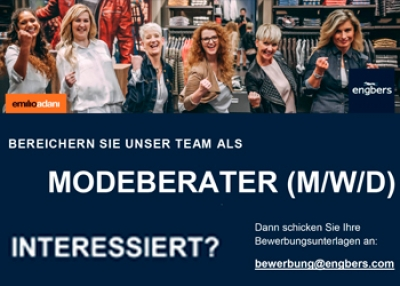 Engbers - Modeberater (m/w/d) gesucht!