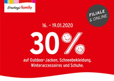 SALE-Aktion bei Ernsting's Family
